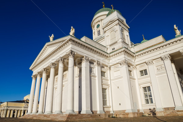 Helsinki Cathedral or St Nicholas Stock photo © tuulijumala