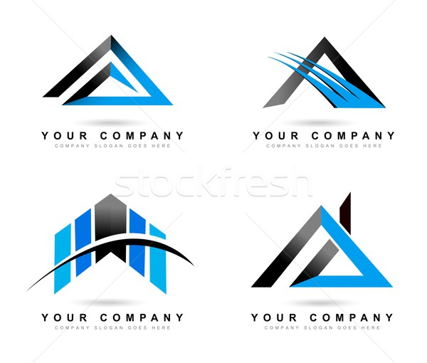 письме логотип Creative аннотация вектора Сток-фото © twindesigner