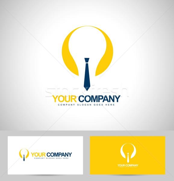 Smart Бизнес логотип корпоративного визитной карточкой шаблон аннотация Сток-фото © twindesigner
