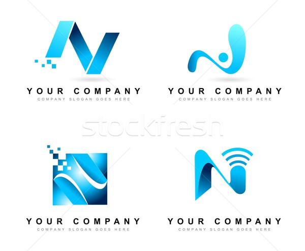 Conception de logo concepts Creative vecteur logo Photo stock © twindesigner