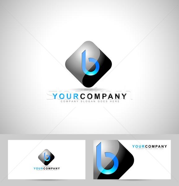 письме дизайн логотипа логотип символ визитной карточкой шаблон Сток-фото © twindesigner