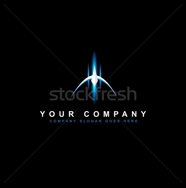 Sci Fi Logo Vector Stock photo © twindesigner