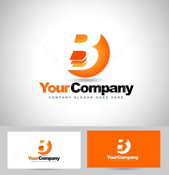 письме дизайн логотипа Creative логотип визитной карточкой шаблон Сток-фото © twindesigner