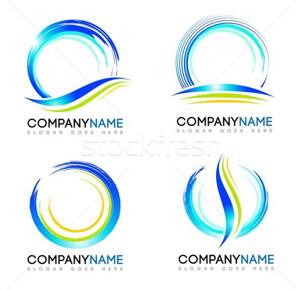Logo vecteur design logos concepts Photo stock © twindesigner