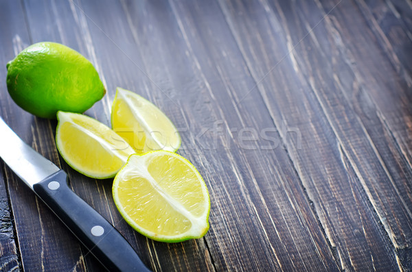 fresh lime Stock photo © tycoon