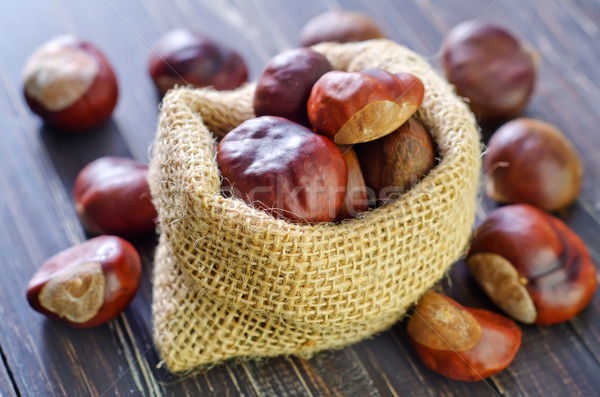 chesnuts Stock photo © tycoon