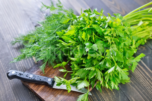 parsley and dill Stock photo © tycoon
