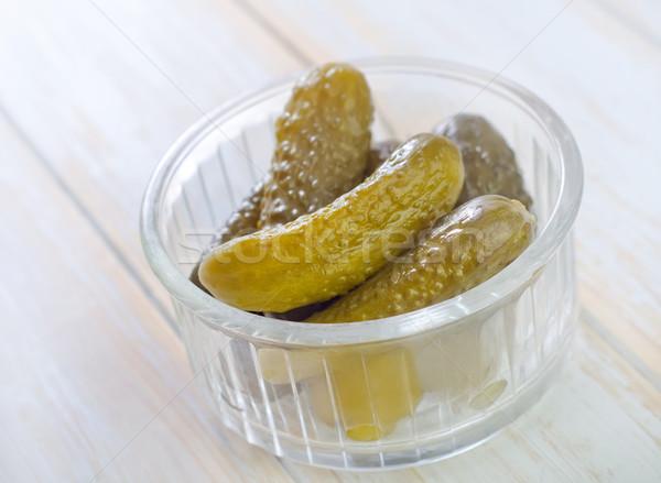 cucumber Stock photo © tycoon