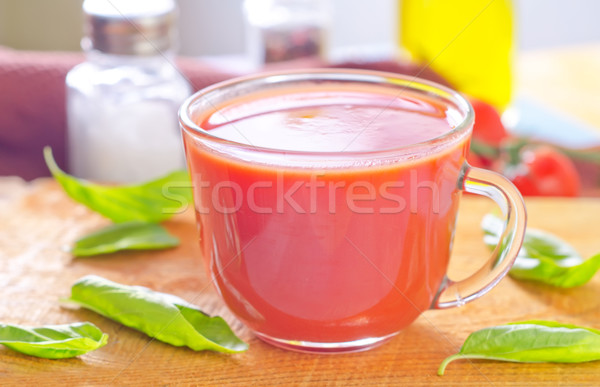 Stock photo: tomato juice