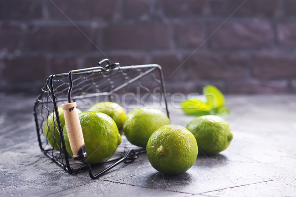 limes Stock photo © tycoon