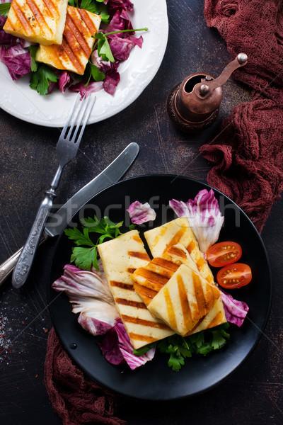 salad with halloumi Stock photo © tycoon