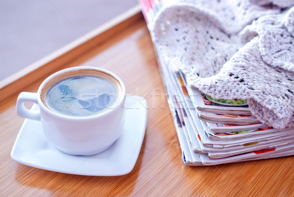 coffee on tray Stock photo © tycoon