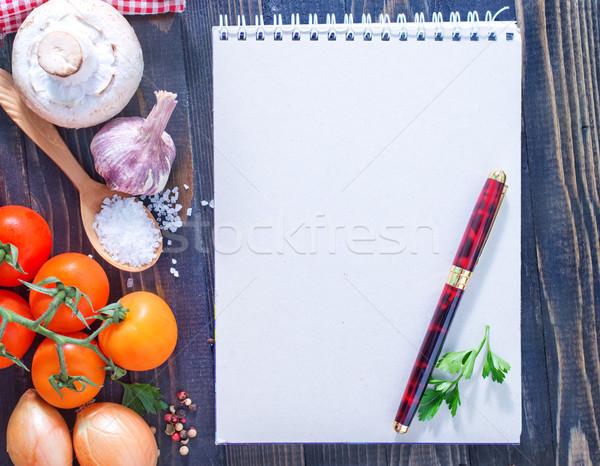 スペース レシピ ビジネス 食品 表 旅行 ストックフォト © tycoon