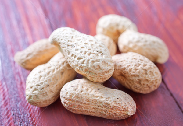 Arachidi texture frutta shell bianco sementi Foto d'archivio © tycoon