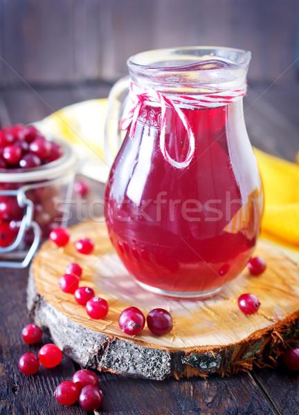 cranberry juice Stock photo © tycoon