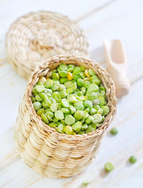 Secar ervilhas textura comida abstrato verde Foto stock © tycoon