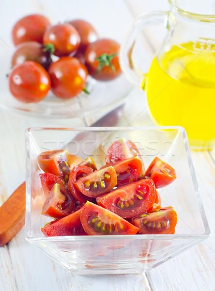 Tomate maison cuisine été automne herbes Photo stock © tycoon