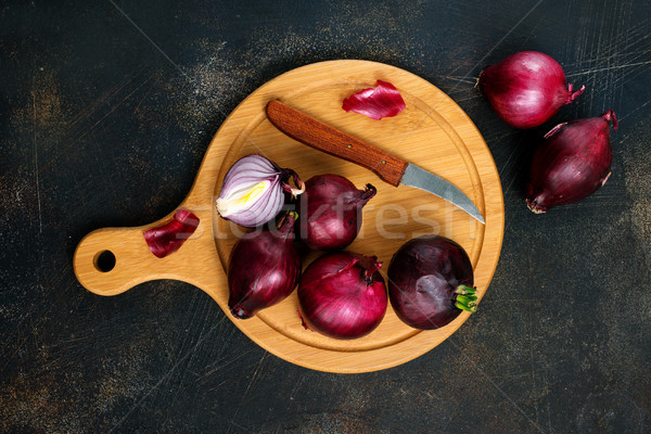 Onion Stock photo © tycoon