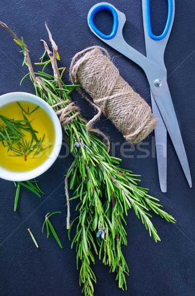Rosmarijn bloem medische natuur gezondheid olie Stockfoto © tycoon
