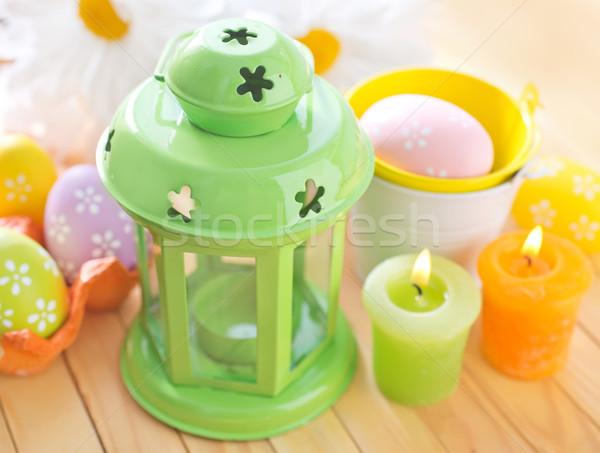 lantern and eggs Stock photo © tycoon