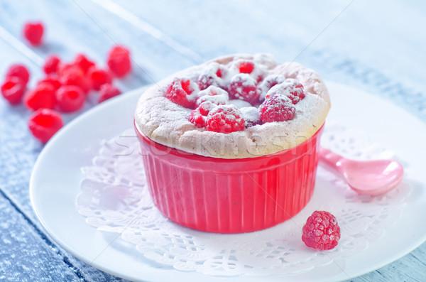 малиной продовольствие горячей цвета чате Sweet Сток-фото © tycoon