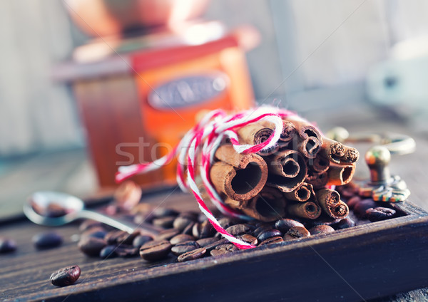 coffee and aroma spice Stock photo © tycoon