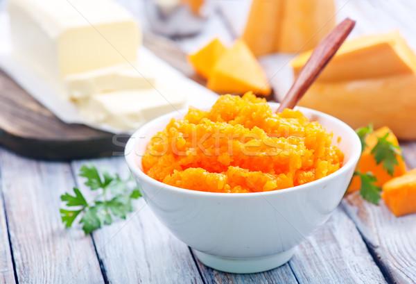 Stock photo: pumpkin porridge