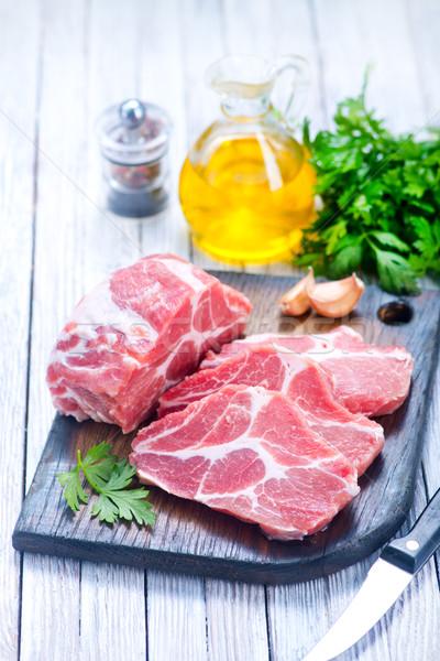 Carne tempero tabela comida Foto stock © tycoon
