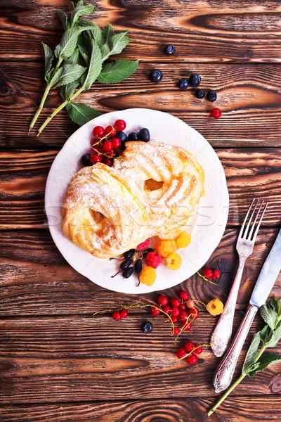 cakes with cream Stock photo © tycoon