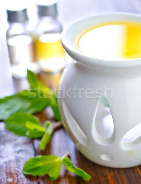 Aroma olio medici sfondo spazio verde Foto d'archivio © tycoon