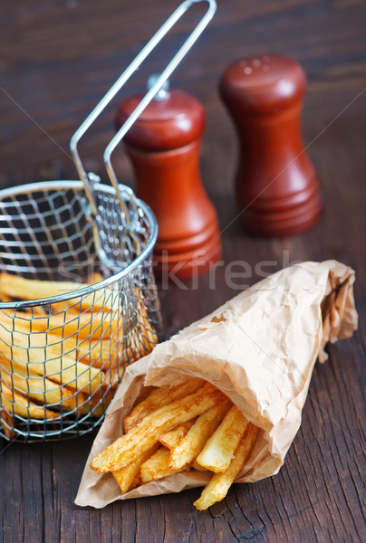 fried potato Stock photo © tycoon