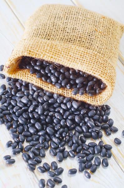 Stok fotoğraf: Siyah · fasulye · gıda · sağlık · grup · beyaz