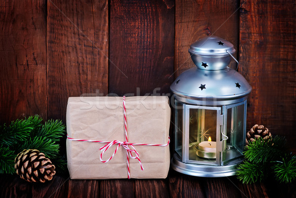 クリスマス 装飾 古い紙 注記 光 背景 ストックフォト © tycoon