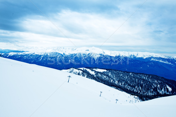 The mountains in Sochi, Russia Stock photo © tycoon