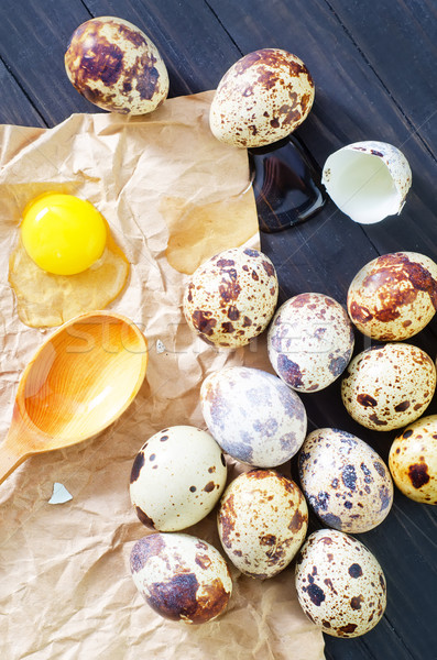 卵 春 木材 自然 卵 背景 ストックフォト © tycoon