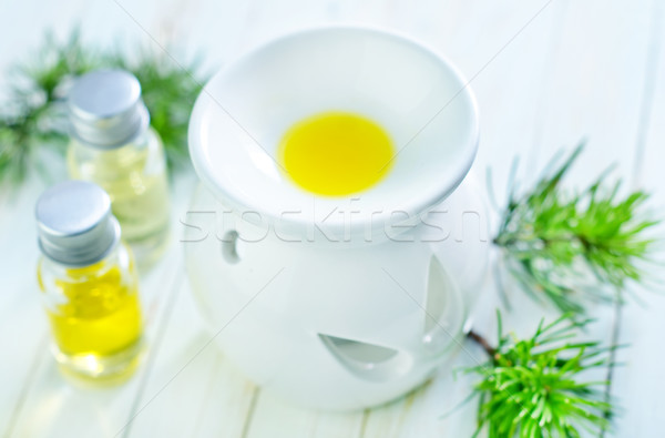Stock photo: aroma oil