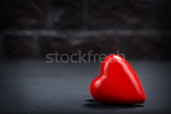 red hearts Stock photo © tycoon