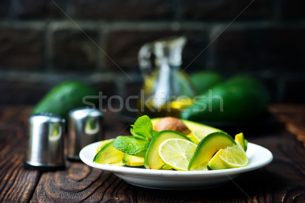 avocado salad Stock photo © tycoon