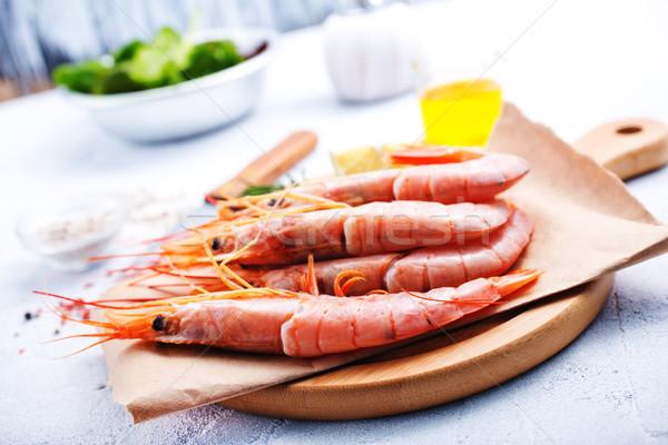 Gekookt Spice zout zeevruchten voedsel tijger Stockfoto © tycoon