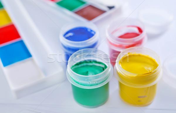 Stock photo: color paint