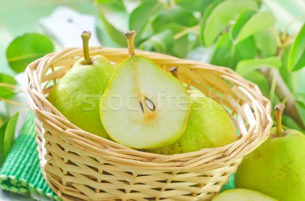 fresh pears Stock photo © tycoon