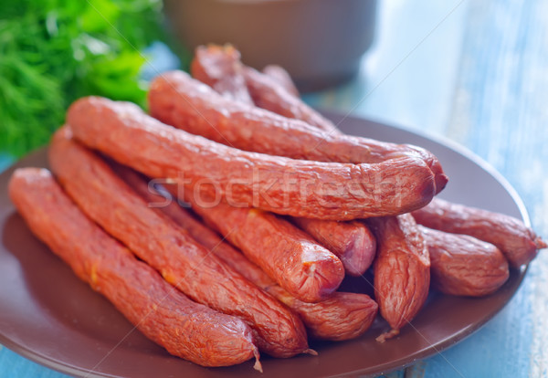 sausages Stock photo © tycoon