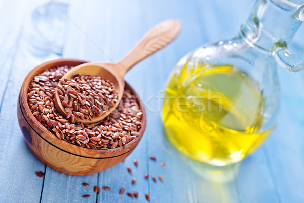 flax seed Stock photo © tycoon