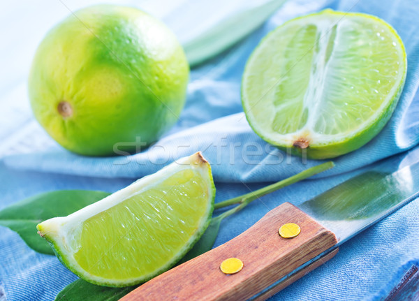 fresh limes Stock photo © tycoon