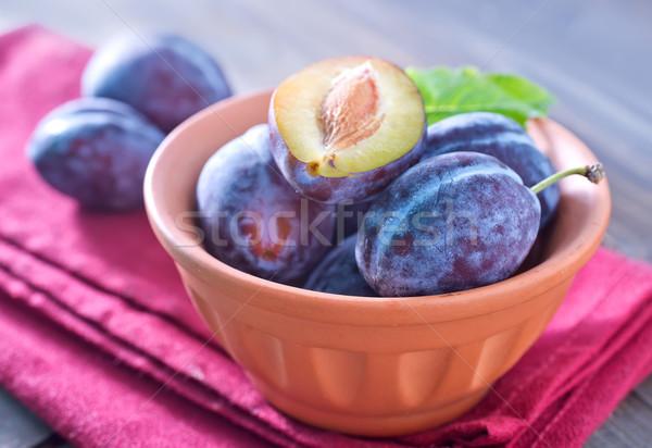 Alimentare natura foglia frutta giardino Foto d'archivio © tycoon