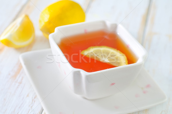 tea with jasmin Stock photo © tycoon