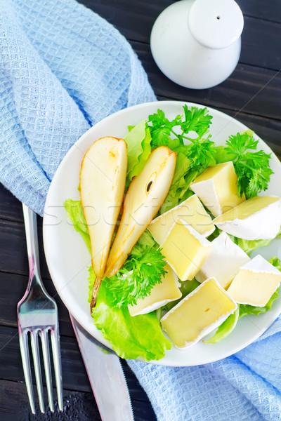 Camembert alimentos mesa leche grasa comer Foto stock © tycoon