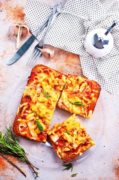 pizza Stock photo © tycoon
