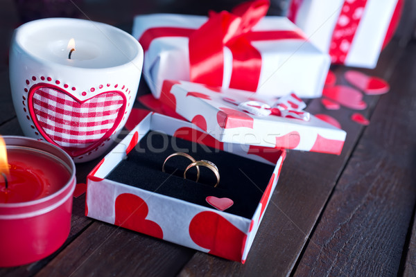 valentines day background Stock photo © tycoon