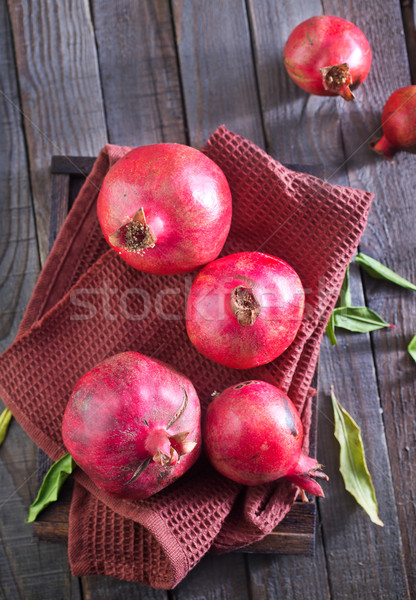 pomegranate Stock photo © tycoon